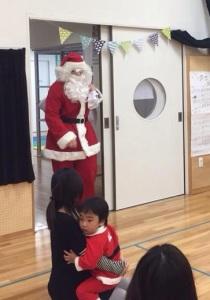 サンタさん登場big